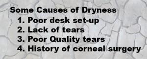 Causes of Dry Eye List