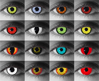 Halloween Contacts | Vista Eye Care | Thornton Optometrists
