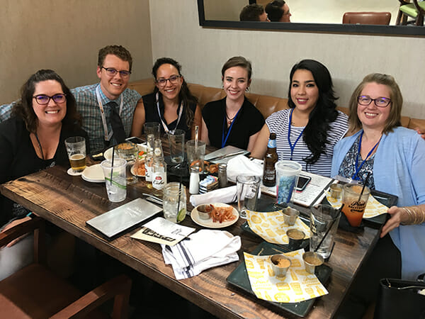 Vista Eye Care's staff team learned a great deal at the CVS meeting in Denver.